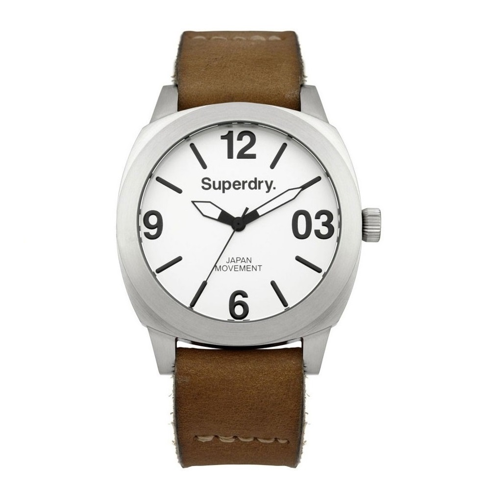 Superdry Thor Brown Leather Strap SYL116TW