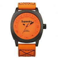 Superdry Men's Orange Watch SYG128O