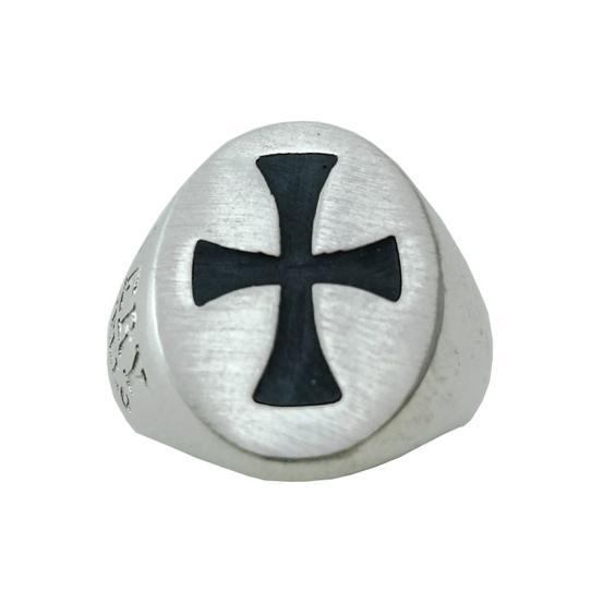 Δαχτυλίδι Ασημένιο Αντρικό Με Σμάλτο ΔΟ60000