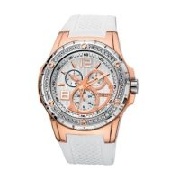 Vogue White Rubber Chronograph 150051.8