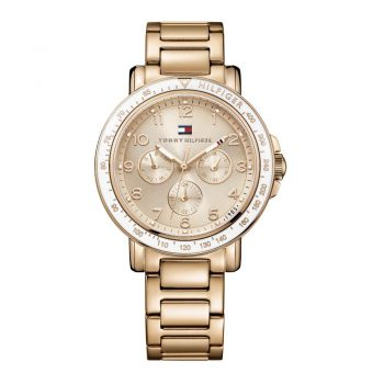 Tommy Hilfiger Ladies Rose Gold 1781513