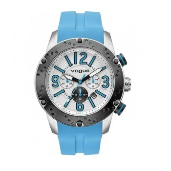 Vogue Spirit Chronograph Blue Rubber Strap 17101.1
