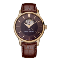 Claude Bernard Classic Automatic Brown Leather Strap 85017 37R BRIR