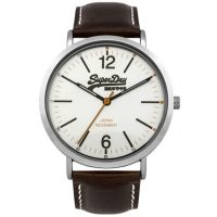 Superdry Oxford Brown Leather Strap SYG194TS