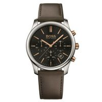 Hugo Boss Chronograph Leather Strap Quartz Watch 1513448
