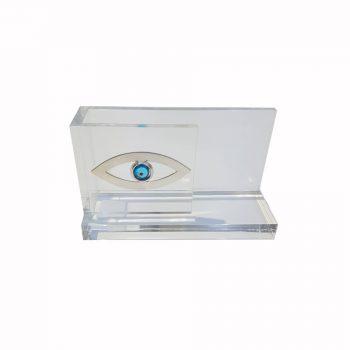Θήκη Για Κάρτες Μάτι Σε Πλεξιγκλάς Χειροποίητο ΔΣ1150