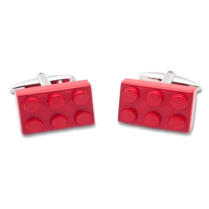 Μανικετόκουμπα OX Lego Κόκκινα Μ025110