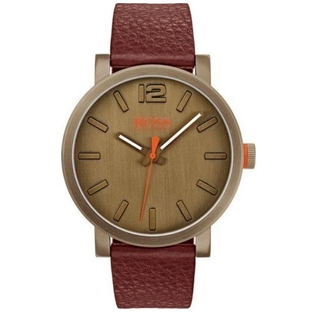 Hugo Boss Orange Leather Strap 1550036