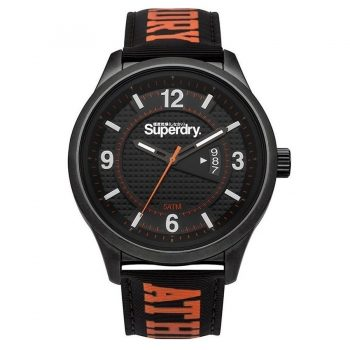 Superdry Yokohama Athletic Orange Rubber Strap SYG171BO