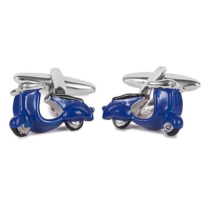 Μανικετόκουμπα OX Βέσπες Μπλε Μ025175