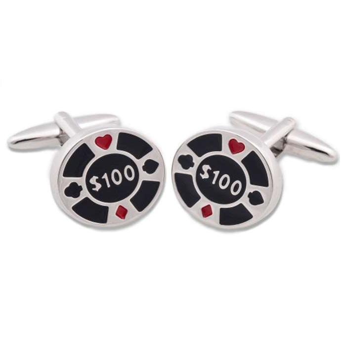 Μανικετόκουμπα OX Μάρκες Πόκερ Μ025130