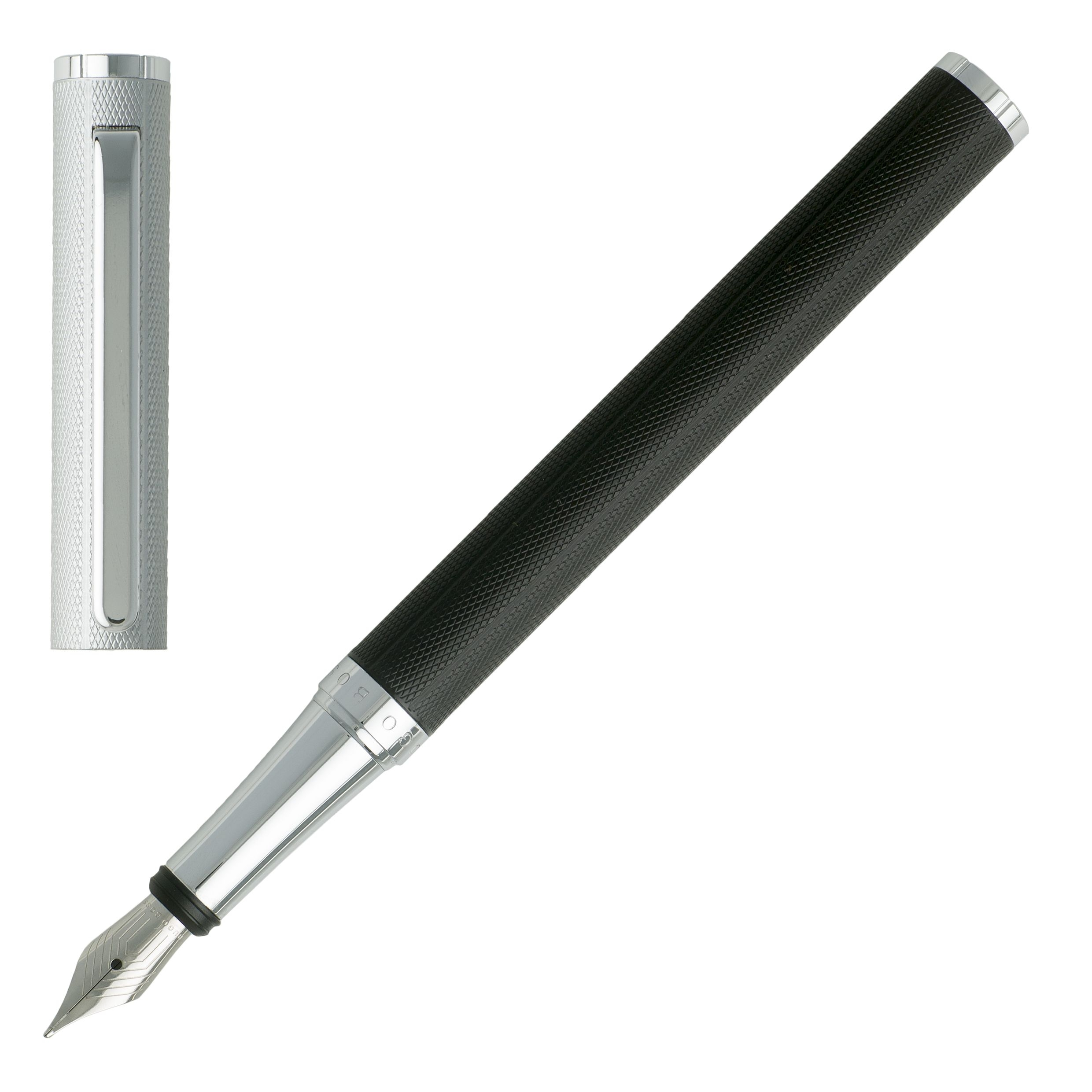 Πένα Hugo Boss Stainless Steel Fountain Pen HSV7642