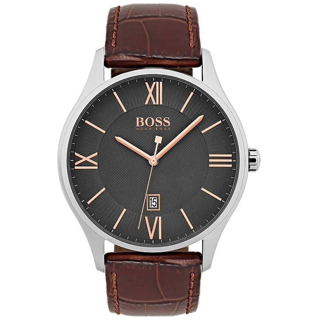 Hugo Boss Brown Leather Strap 1513484