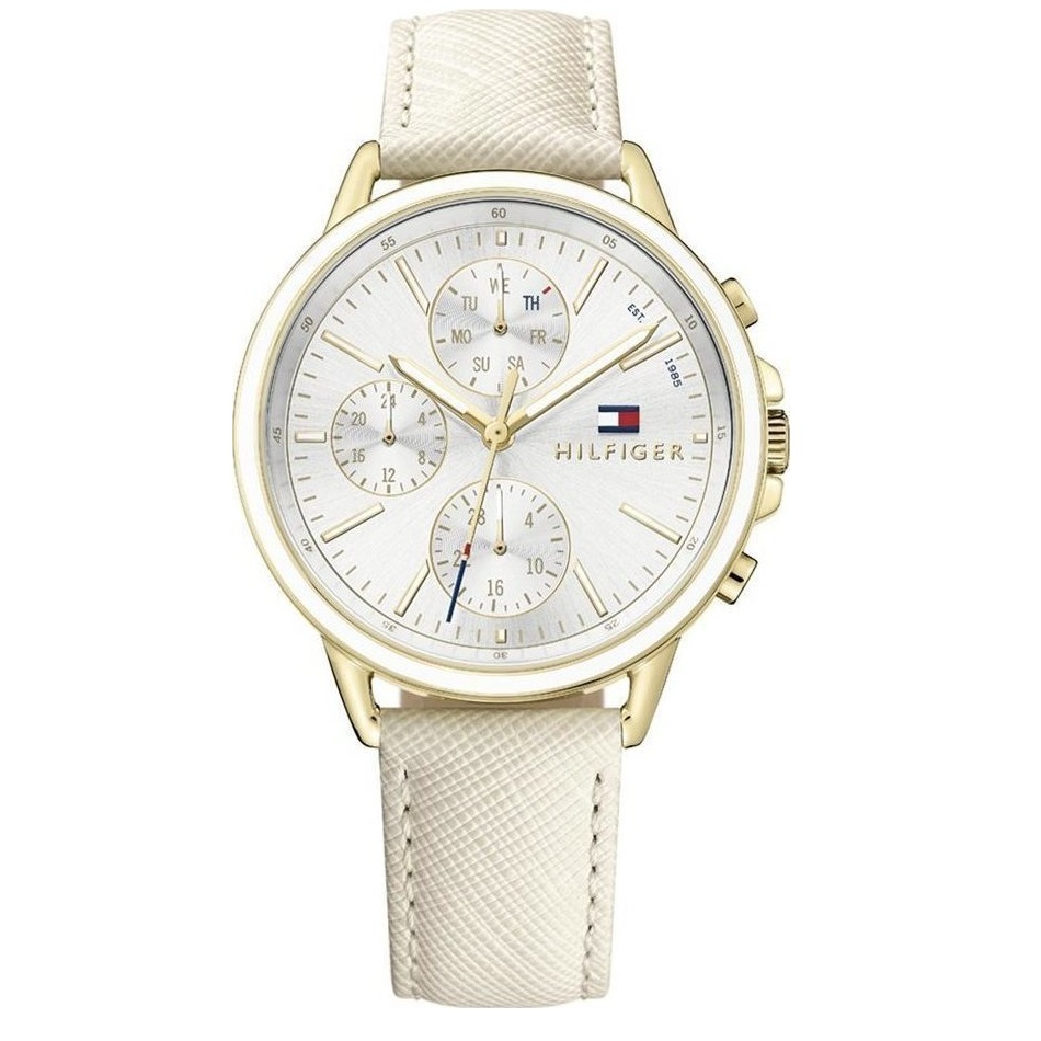 Tommy Hilfiger Carly White Leather Strap 1781790