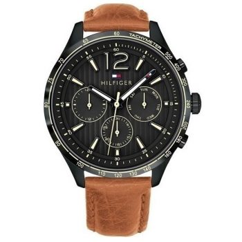 Tommy Hilfiger Gavin Brown Leather Strap 1791470