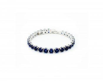 Βραχιόλι Le Carose Ριβιέρα Με Μπλε Ζιργκόν ΚΟ90210