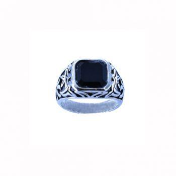 Δαχτυλίδι Ατσάλινο Με Όνυχα ΔΟ55025