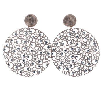 Σκουλαρίκια Ροζ Επιχρυσωμένα Με Ζιργκόν ΣΚ41000