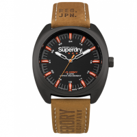 Superdry Mens Brown Leather Strap SYG228TB