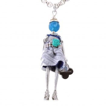 Κολιέ Le Carose Κούκλα Μικρή Επιπλατινωμένη ΚΟ90135