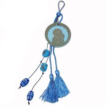 Κρεμαστό Κούνιας Μπλε Παναγία ΚΚ5000