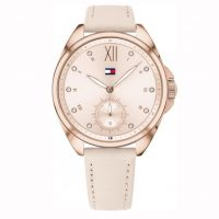 Tommy Hilfiger Ava Pink Leather Strap 1781992