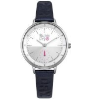 Superdry Ascot Blue Leather Strap SYL159U