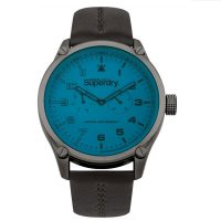 Superdry Military Brown Leather Strap SYG208UBR
