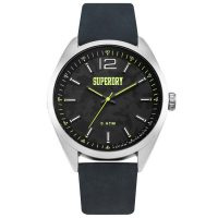 Superdry Military Grey Leather Strap SYG209B