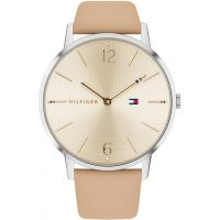 Tommy Hilfiger Alex Beige Leather Strap 1781974