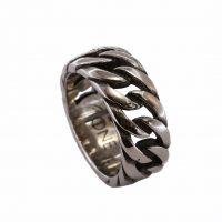 Δαχτυλίδι Αντρικό Ατσάλινο ΔΟ54035