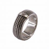 Δαχτυλίδι Αντρικό Ατσάλινο ΔΟ54040