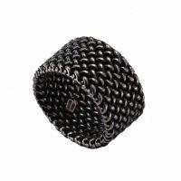 Δαχτυλίδι Ασημένιο Με Μαύρη Οξείδωση ΔΟ54185