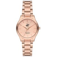 Beverly Hills Polo Club Ladies Rose Gold Stainless Steel Bracelet BH2169-03