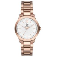 Beverly Hills Polo Club Rose Gold Stainless Steel Bracelet BH2111-05